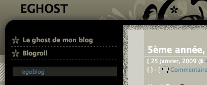 eghost, le ghost d'egoblog